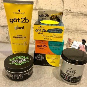 Hair Paste Wax Gel Texture Bundle Bedhead